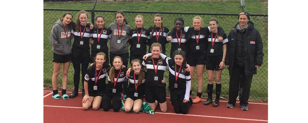 U13 Girls 04 Black DA Finalists at Cinci Spring Thaw!