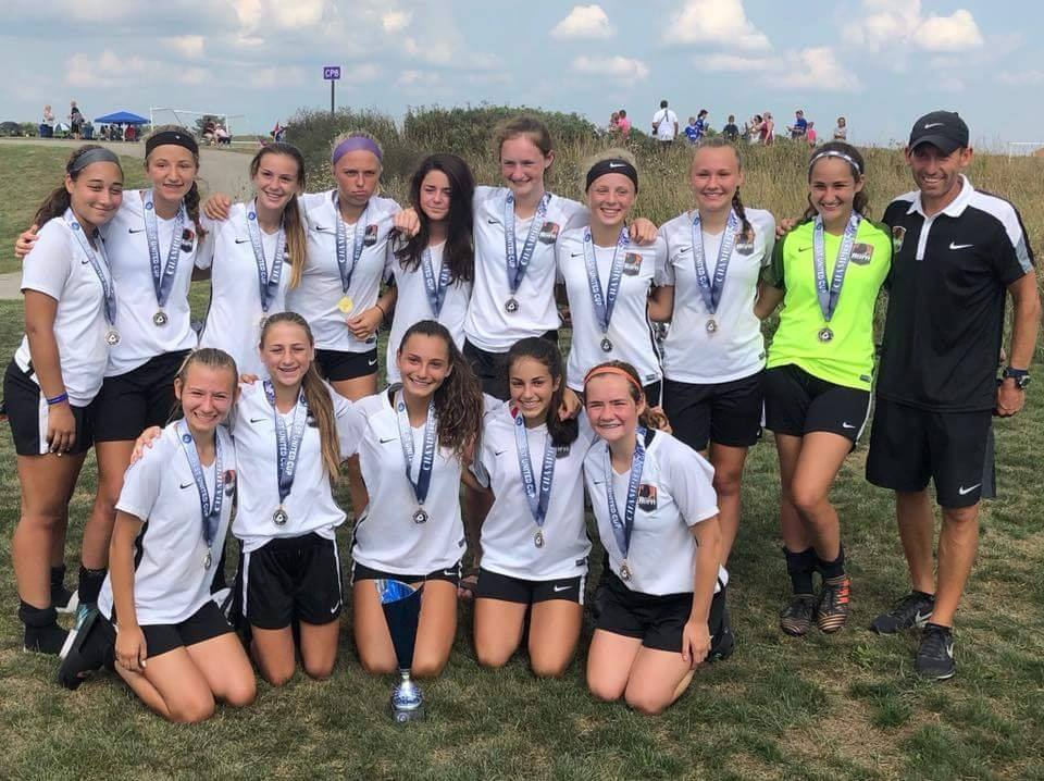 U15 Girls 04 Black Midwest United Cup Champions!