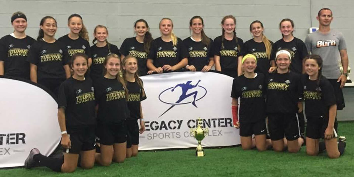 04 Girls Black are 2017 Powerade Invitational Champions!