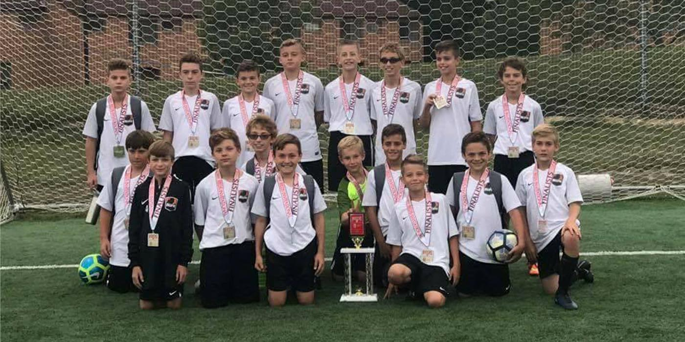 05 Boys Black Finalists at Reds Invitational!
