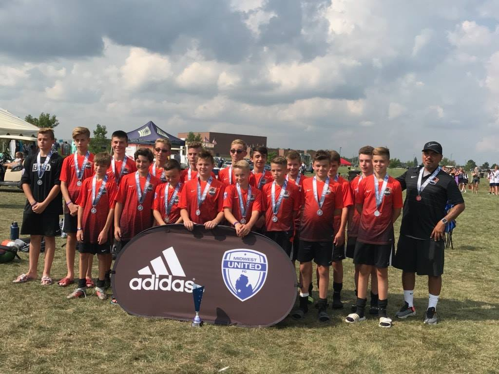 U14 Boys 05 Black Midwest United Cup Finalists!