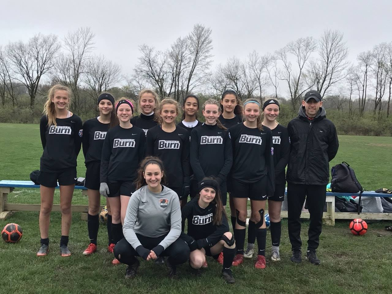 05 Girls Black Indy Burn Cup Finalists