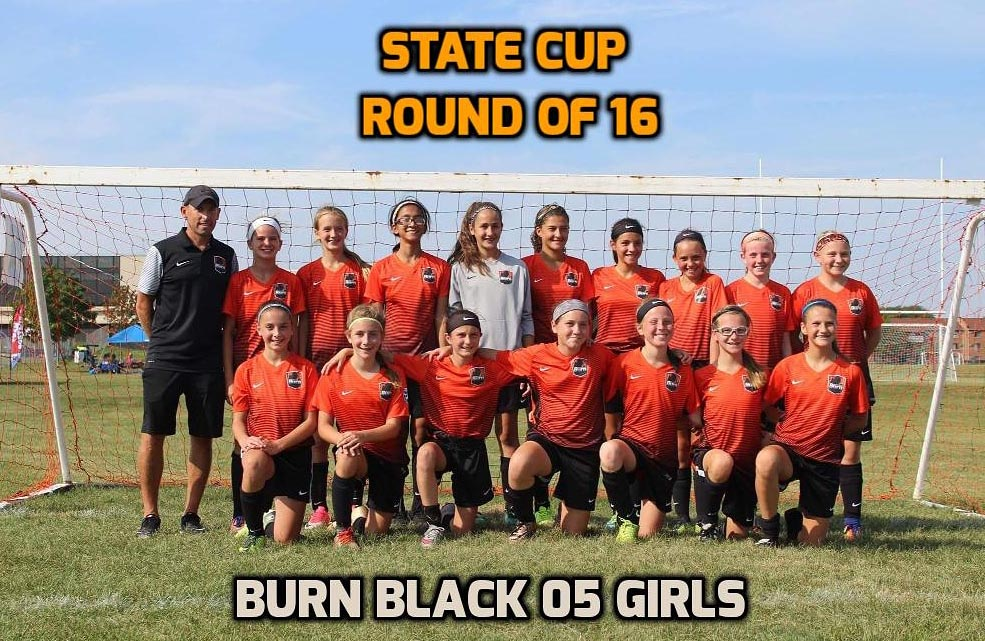 05 Black Girls Advance to Sweet Sixteen in State Cup!