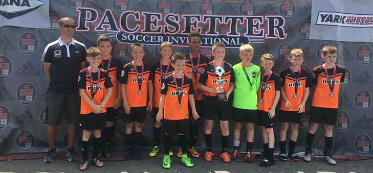 U11 Boys 06 Black Finalists at Pacesetters!