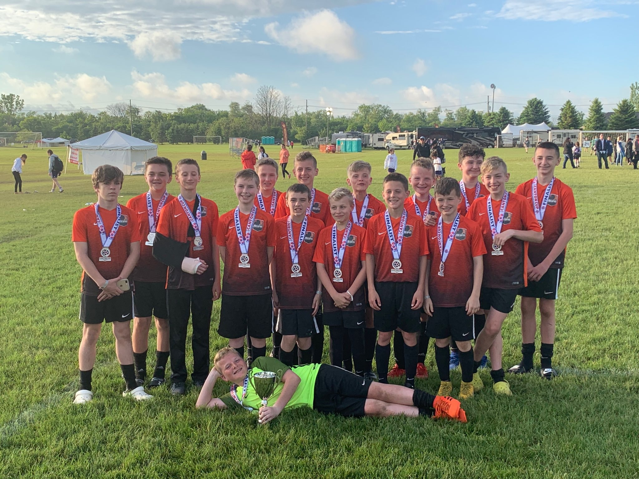 06 Select U13 Boys are 2019 Canton Cup Finalists