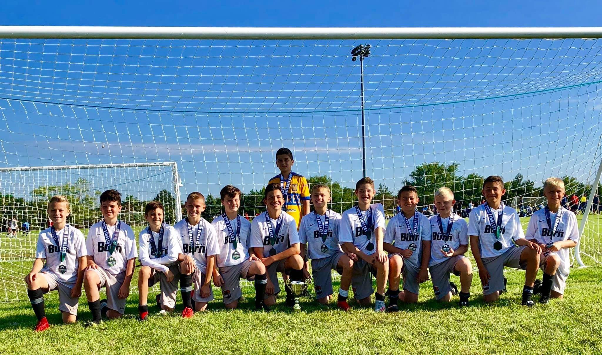 U13 Boys Black Pre-NLC are Palatine Celtic Cup Finalists!
