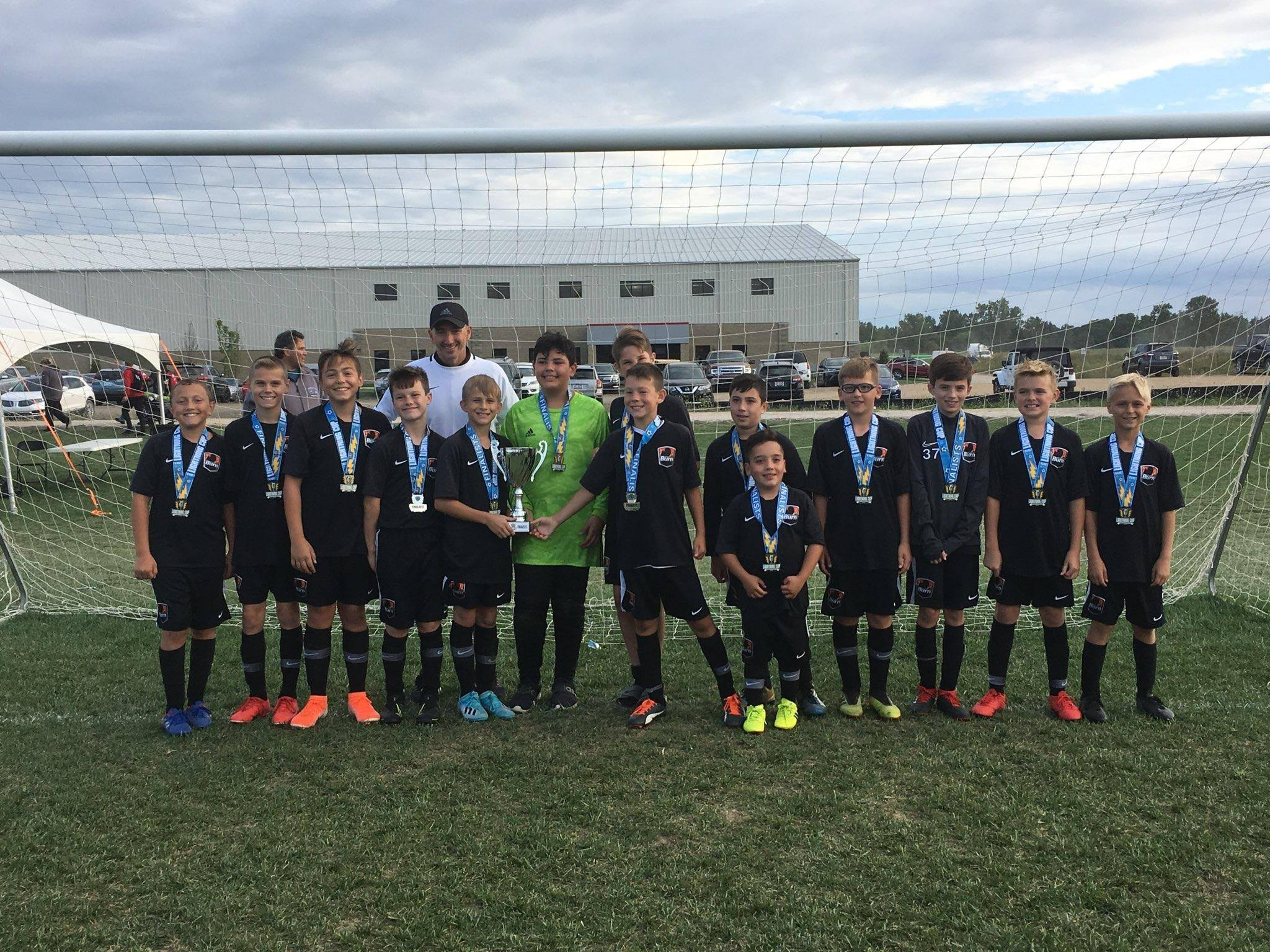 U13 Boys 07 White are Lightning Cup Finalists!