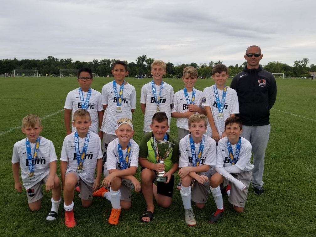 U12 Boys 08 Black are Lightning Cup Finalists!