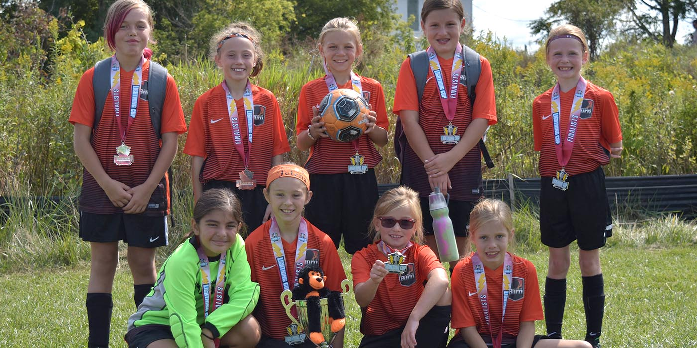 08 Girls Black Finalists at Lightning Cup!