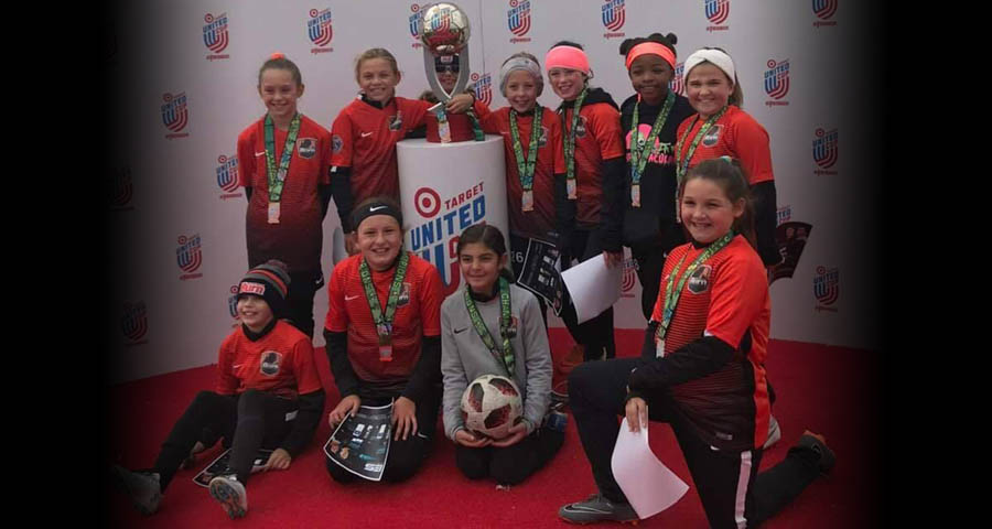08 Girls Black are Waza Spooktacular Champions!