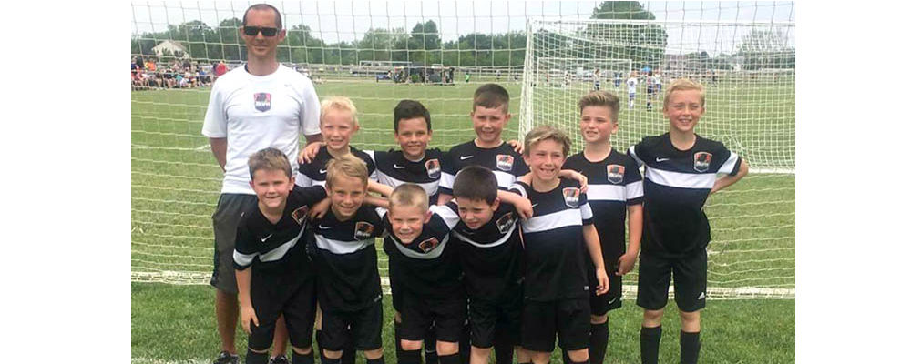 MI Burn 09 Black, 2-1 at the Pacesetter Invitational!
