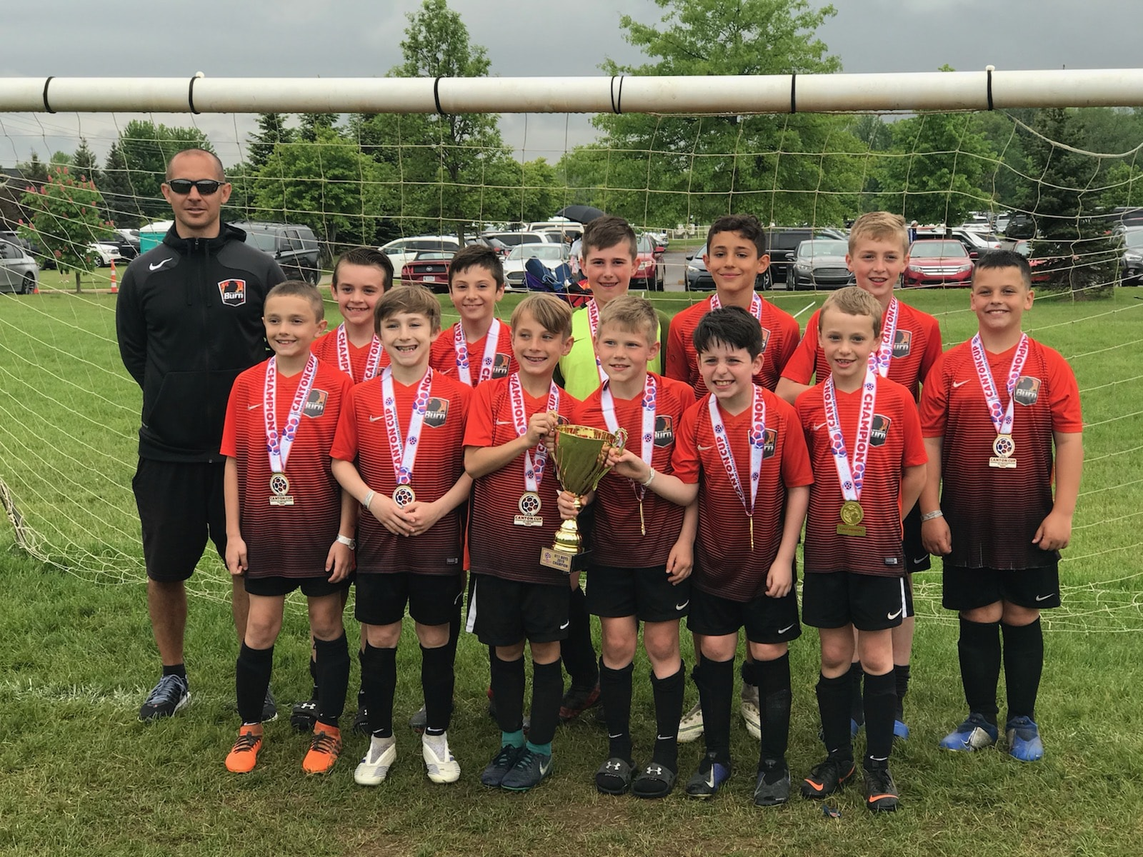 09 Black U10 Boys are 2019 Canton Cup Champions!