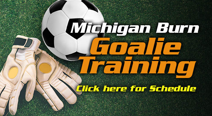 Michigan Burn Goalkeeper Training