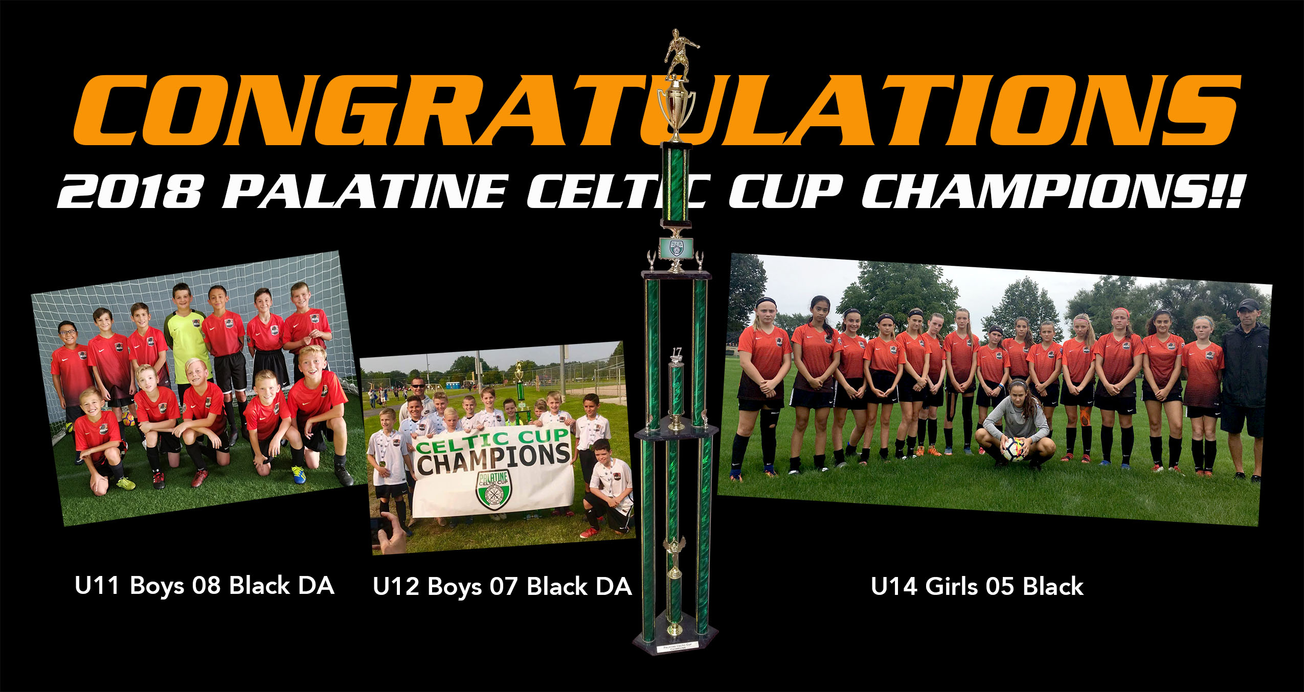 2018 Palatine Celtic Cup Champions!