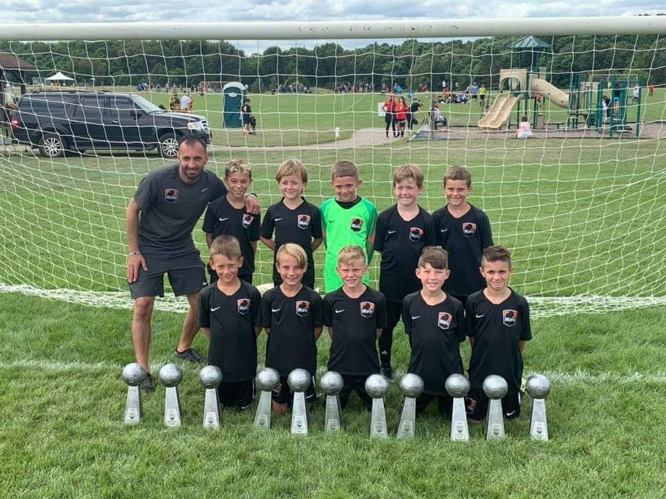10 Black U10 Boys are Powerade Invitational Champions!