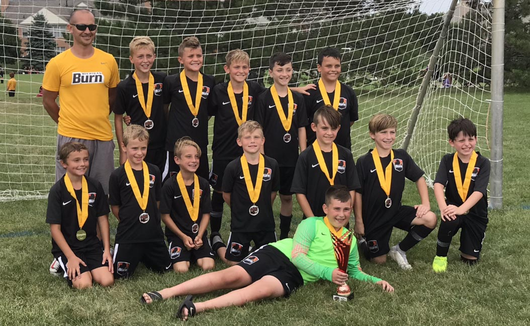 U11 Boys 09 Black DA Win Rush Kickoff Classic!