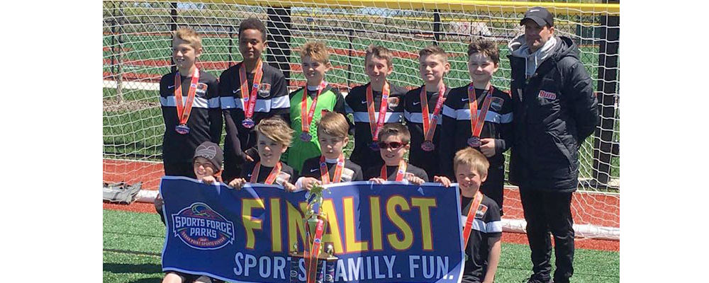 U11 Boys 06 White Finalists in Spring Shootout!