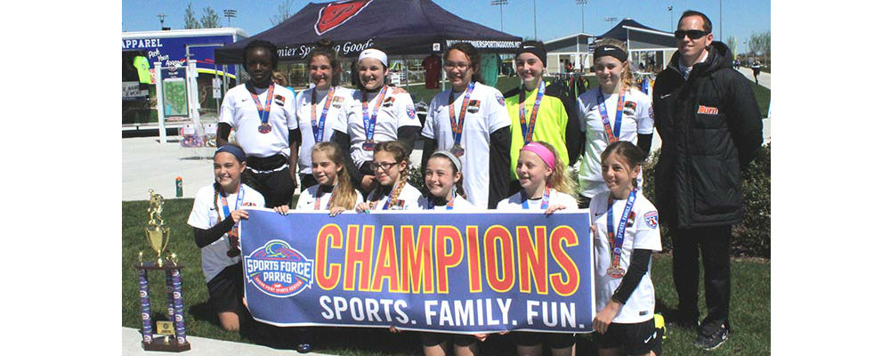 U13 Girls 04 White Spring Shootout Champs!!