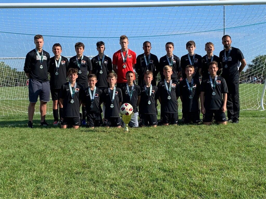 U14 Boys Black are Palatine Celtic Cup Champions!