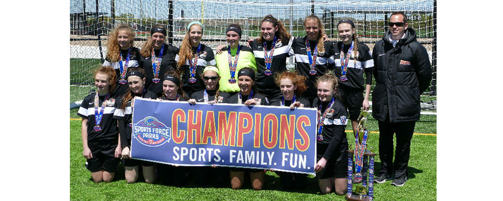 U14 Girls 03 White Win Spring Shootout!