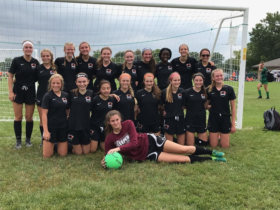U16 Girls 04 White are Palatine Celtic Cup Finalists!
