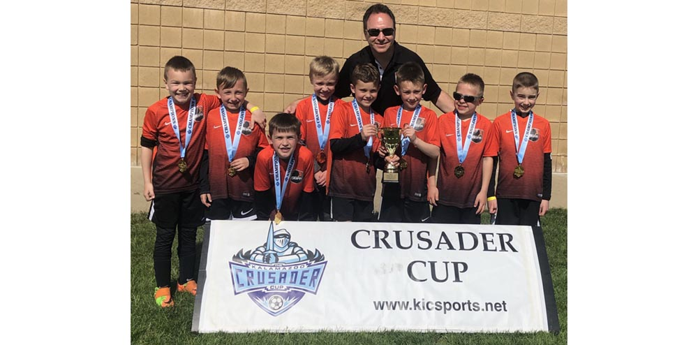11 Boys Black Crusader Cup Champs!