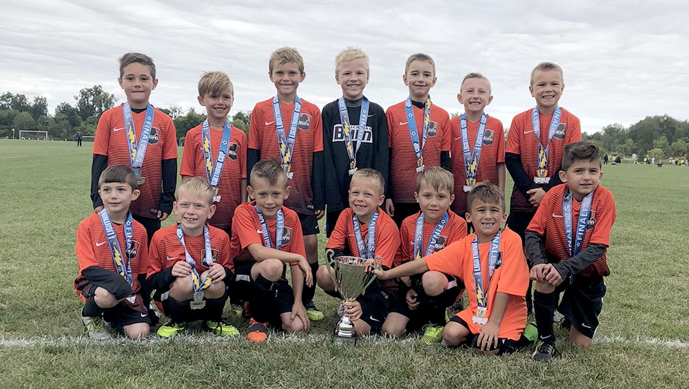 U8 Boys 11 Lightning Cup Finalists