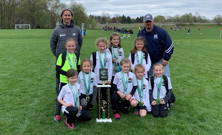 U8 Girls 11 JG Novi Jags Finalists!